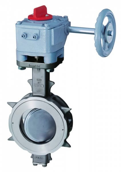 304Y RPTFE Seat Butterfly Valve