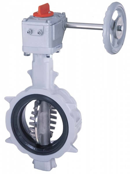 508V Rubber Lined Butterfly Control Valve Image
