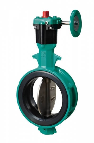 700Z Aluminium Rubber Lined Butterfly Valve