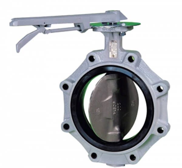 704G Lugged Rubber Lined Butterfly Valve Image