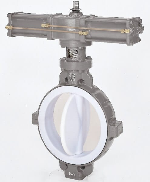 841T – 842T PTFE Lined Butterfly Valve Image