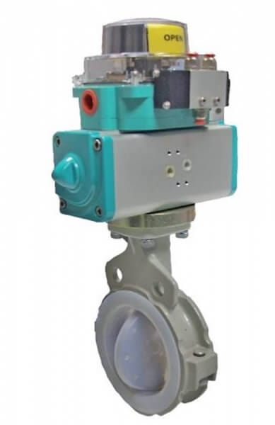 847T PFA Lined Butterfly Valve Image