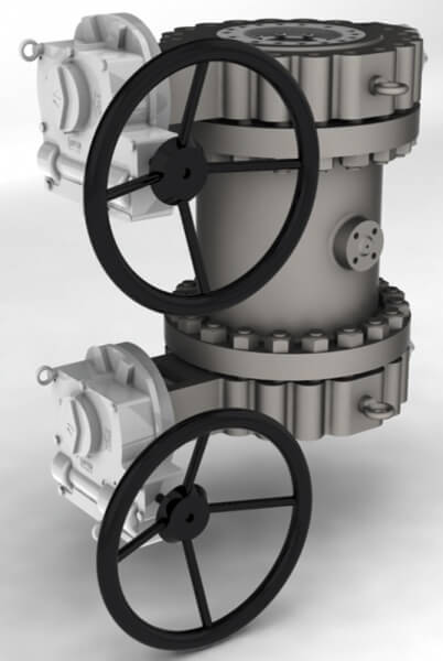 Triple Offset Double Isolation Butterfly Valve Option 3 Image