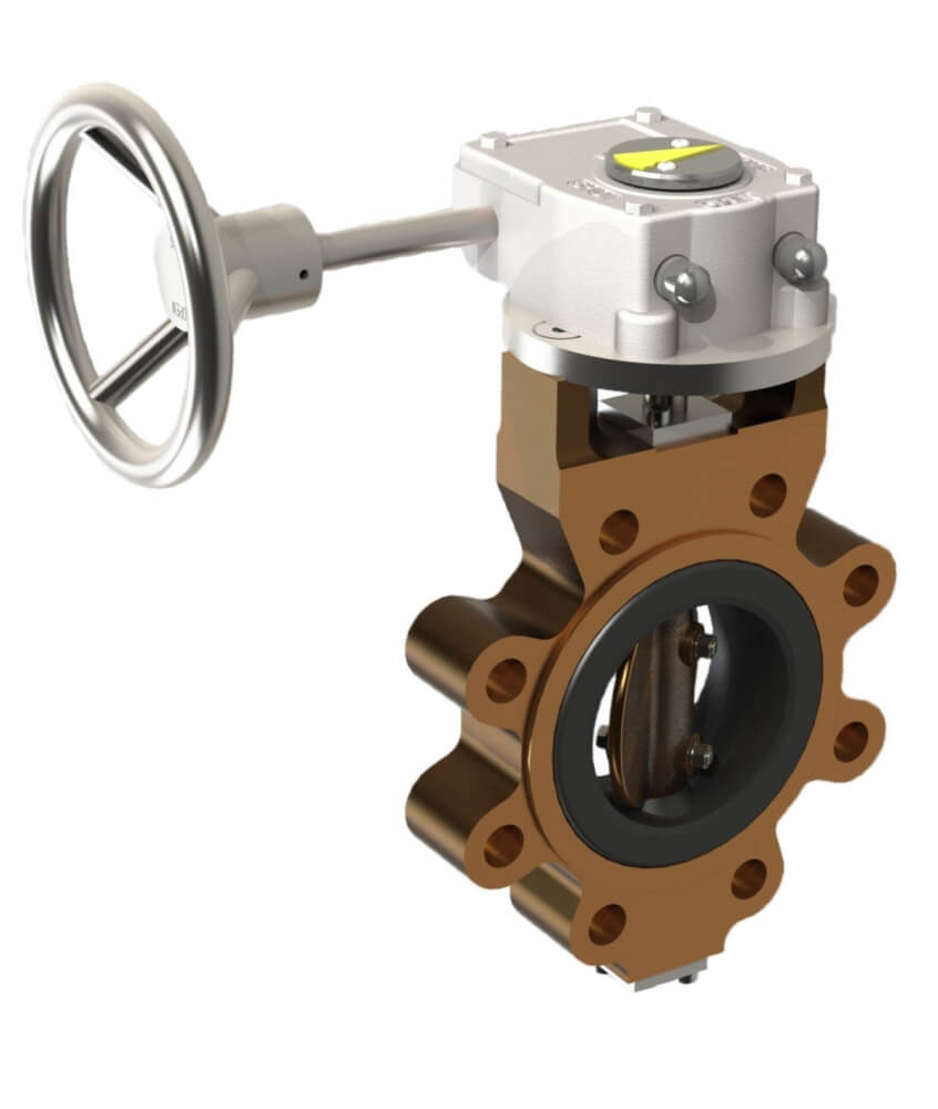 731X Rubber Lined Butterfly Valve Image